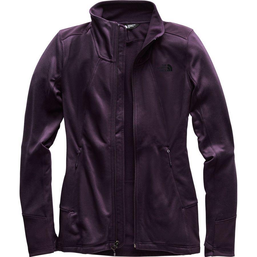 (取寄)ノースフェイス レディース シャスティーナ ストレッチ フルジップ ジャケット The North Face Women Shastina Stretch Full-Zip Jacket Galaxy Purple/Galaxy Purple