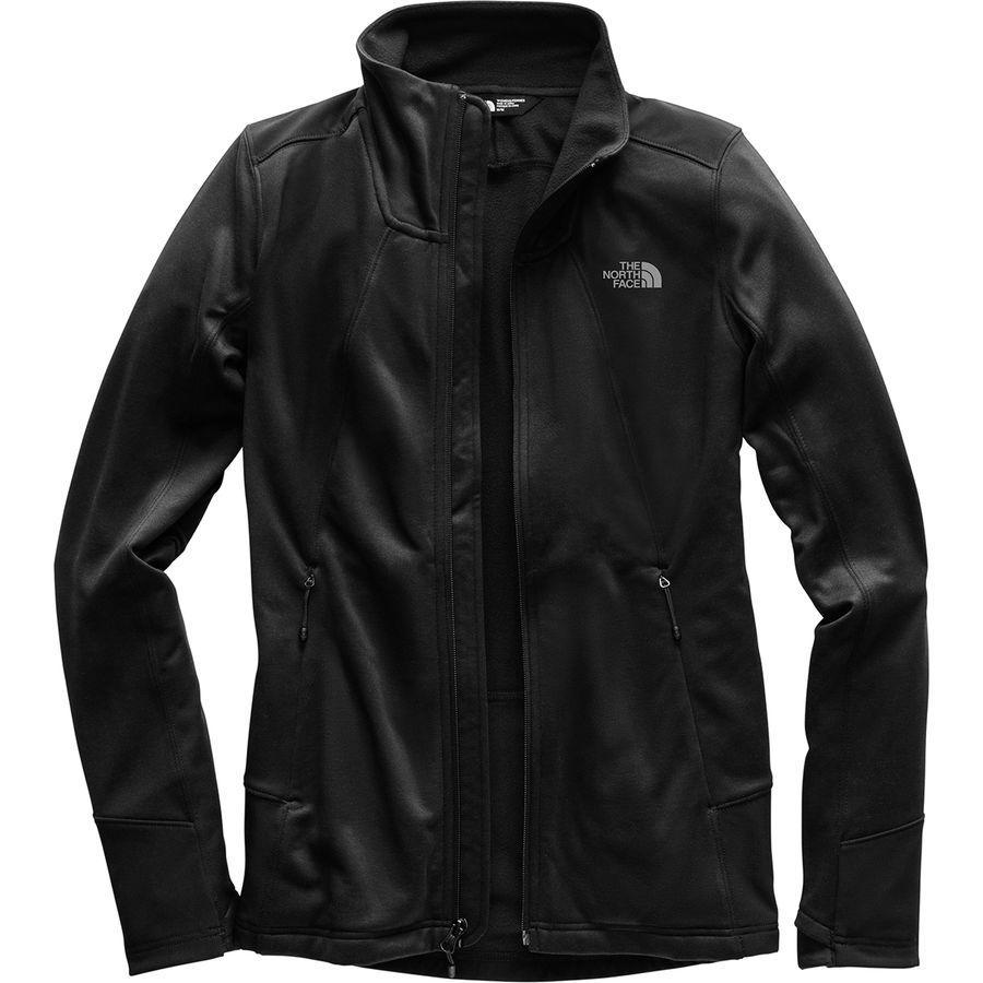 (取寄)ノースフェイス レディース シャスティーナ ストレッチ フルジップ ジャケット The North Face Women Shastina Stretch Full-Zip Jacket Tnf Black/Tnf Black