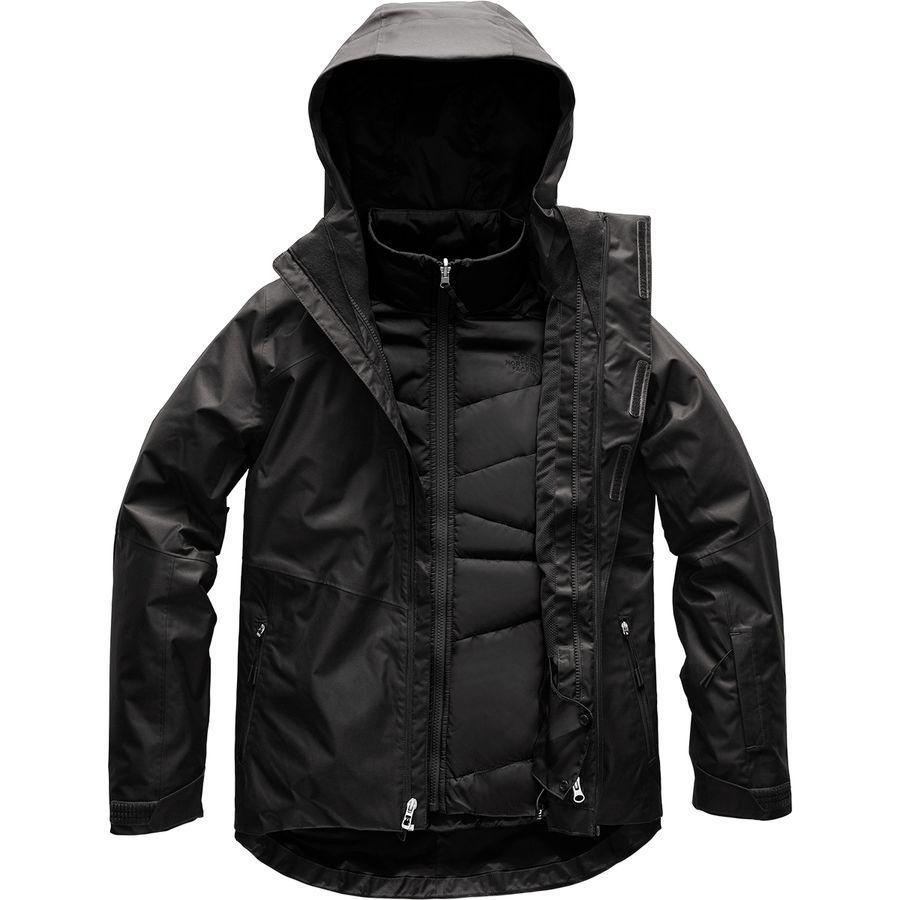 (取寄)ノースフェイス レディース クレメンタイン トリクラメイト フーデッド 3-In-1 ジャケット The North Face Women Clementine Triclimate Hooded 3-In-1 Jacket Tnf Black