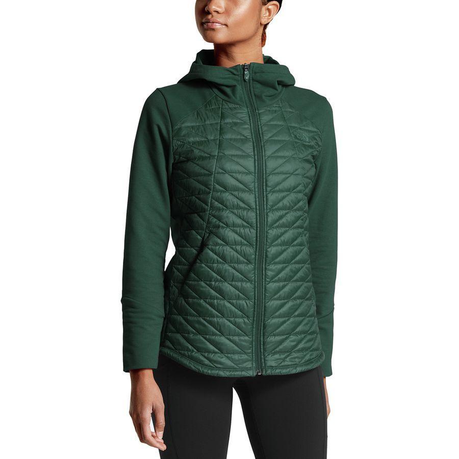 (取寄)ノースフェイス レディース モチベーション サーモボール ジャケット The North Face Women Motivation Thermoball Jacket Botanical Garden Green