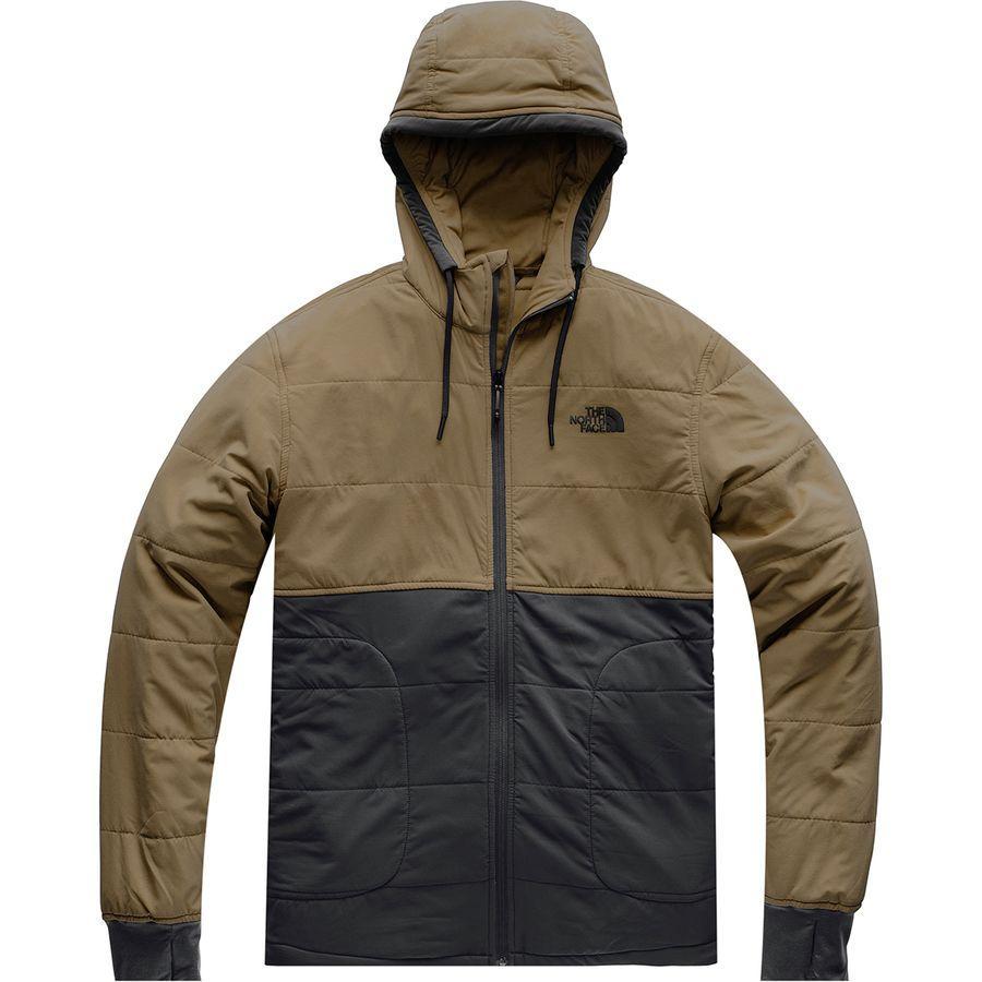 (取寄)ノースフェイス メンズ マウンテン トレーナー 2.0フルジップ パーカー The North Face Men's Mountain 2.0 Full-Zip Hoodie Sweatshirt Beech Green/Weathered Black
