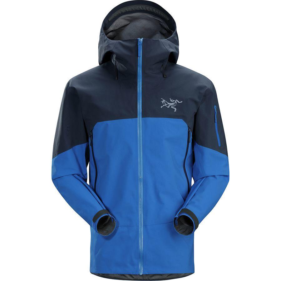 【クーポンで最大2000円OFF】(取寄)アークテリクス メンズ ラッシュ ジャケット Arc'teryx Men's Rush Jacket Blue Northern【outdoor_d19】