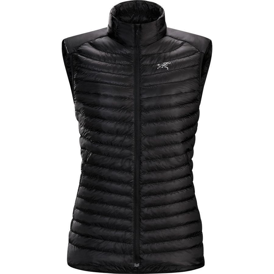 (取寄)アークテリクス レディース セリウム SL ダウン ベスト Arc'teryx Women Cerium SL Down Vest Black
