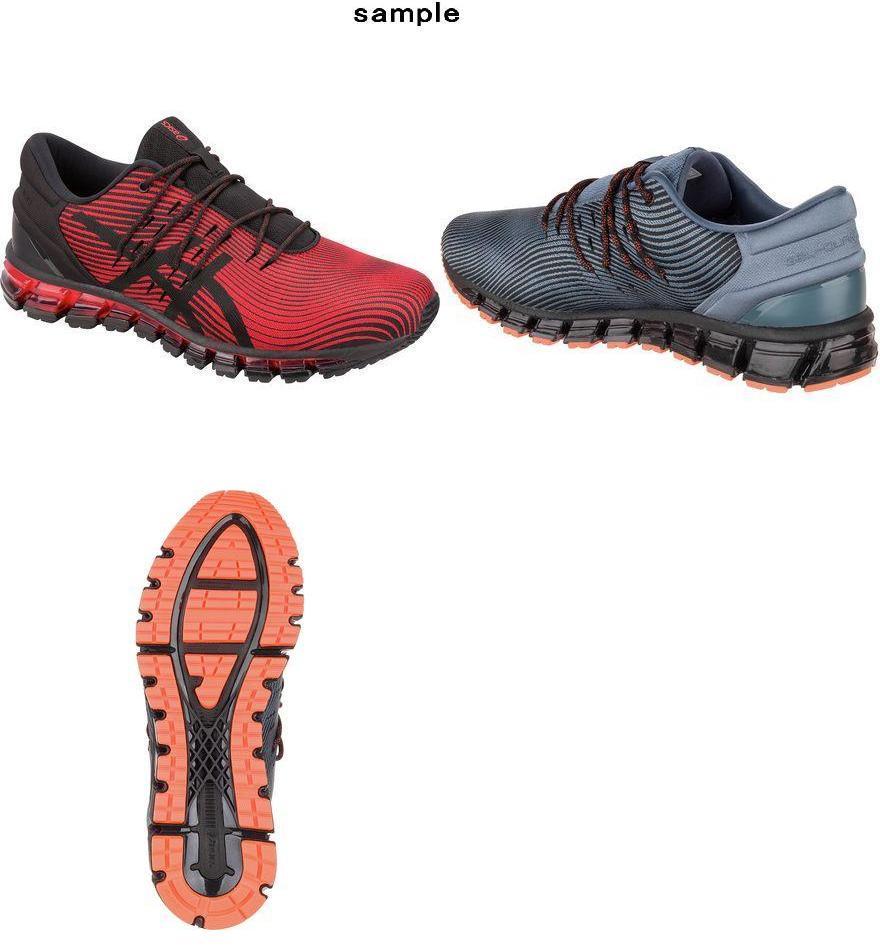 quality design a6b83 18528 (order) ASICS men Gel-Quantum360 4 running shoes running shoes Asics Men s  Gel-Quantum 360 4 Running Shoe Red Alert Black