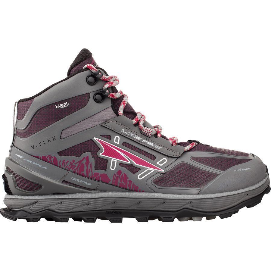 (取寄)アルトラ メンズ ローン ピーク 4.0ミッド レイン スノー マッド トレイル ランニングシューズ Altra Men's Lone Peak 4.0 Mid Rain Snow Mud Trail Running Shoe Gray