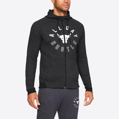 (取寄)アンダーアーマー メンズ プロジェクト ロック Jacket 2X Full-Zip フリース フルジップ ジャケット Black Underarmour Men's Project Rock 2X Fleece Full-Zip Jacket Black Heather, クガグン:ba21fb31 --- m2cweb.com