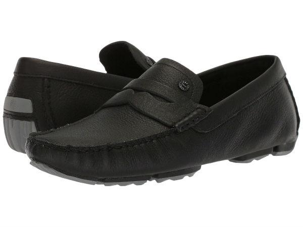(取寄)アグ メンズ Bel-Airペニー スリップ UGG Men's Bel-Air Penny Slip Black