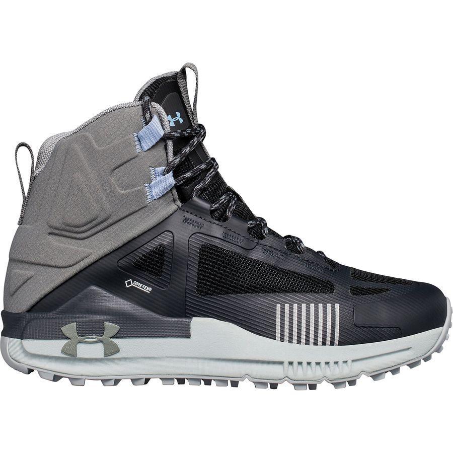 (取寄)アンダーアーマー レディース ベルジェ 2.0ミッド Gtx ハイキング ブーツ Under Armour Women Verge 2.0 Mid GTX Hiking Boot Anthracite/Clay Green/Clay Green