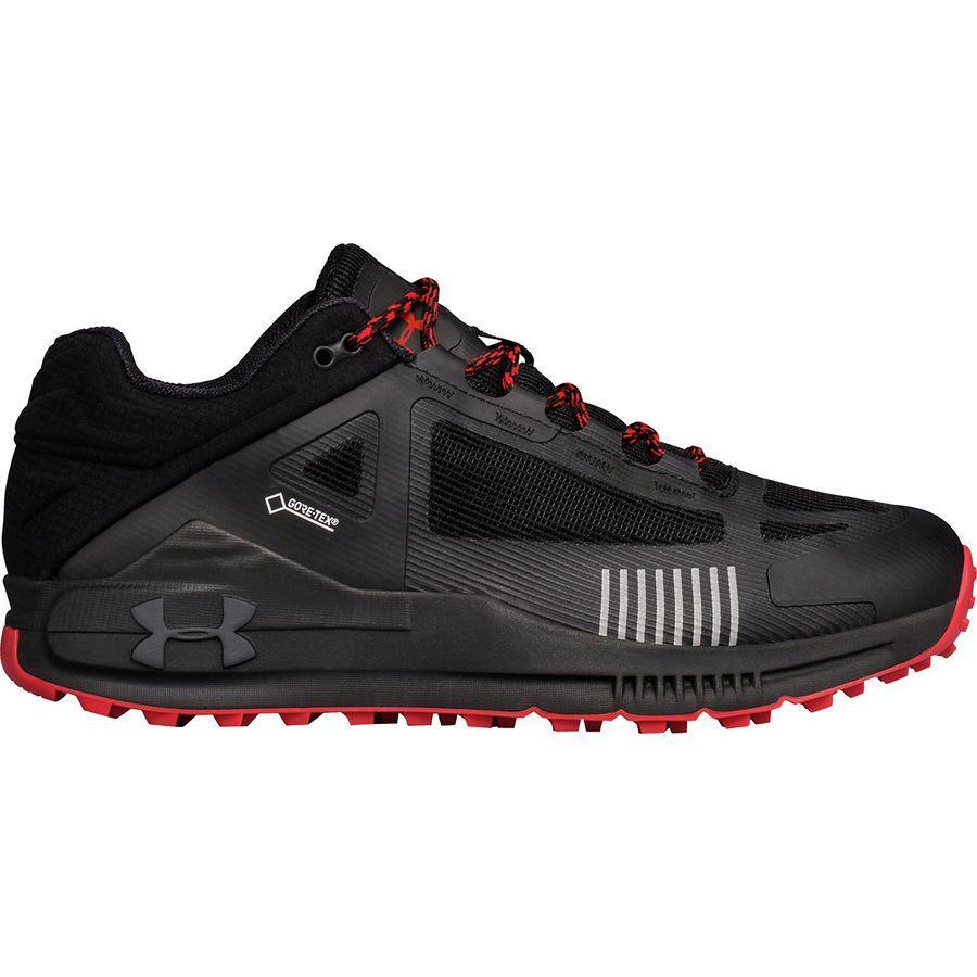 (取寄)アンダーアーマー メンズ ベルジェ 2.0ロウ Gtx ハイキングシューズ Under Armour Men's Verge 2.0 Low GTX Hiking Shoe Black/Black/Anthracite