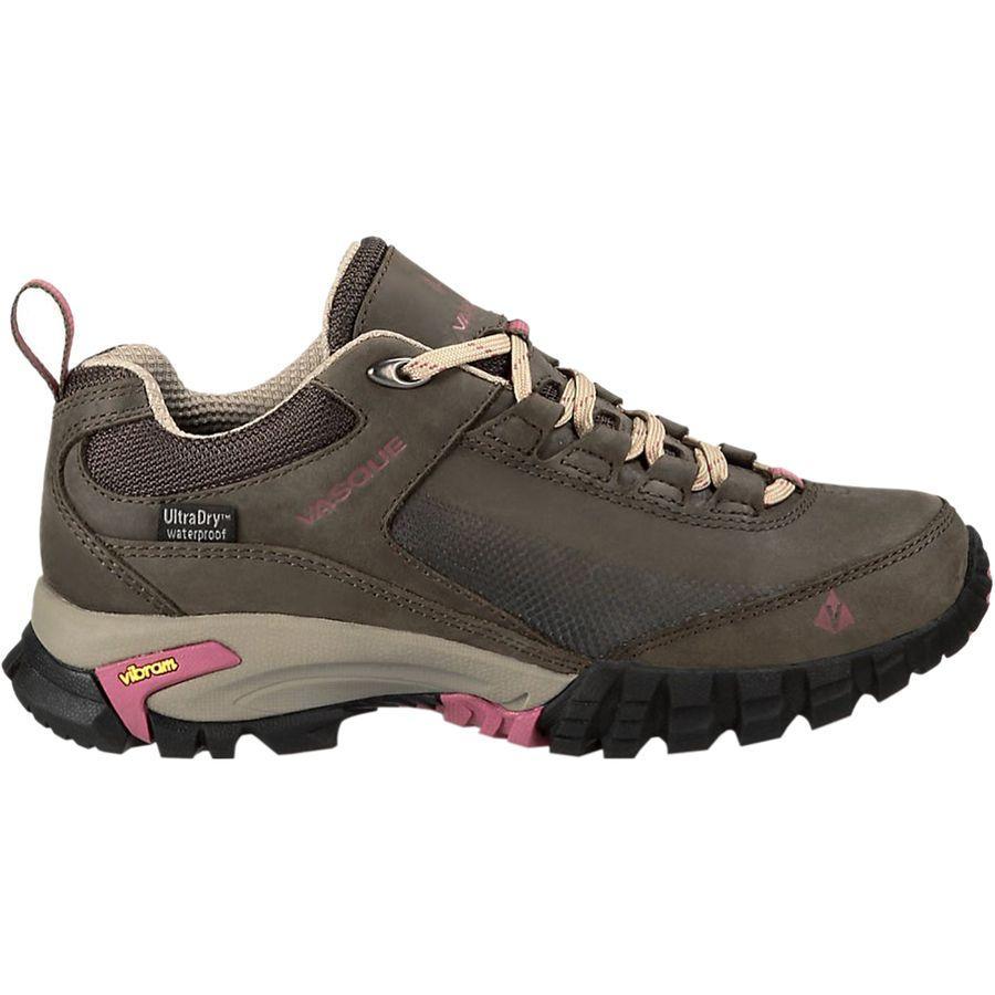 (取寄)バスク レディース タラス トレック ロウ ウルトラドライ ハイキングシューズ Vasque Women Talus Trek Low UltraDry Hiking Shoe Black Olive/Damson