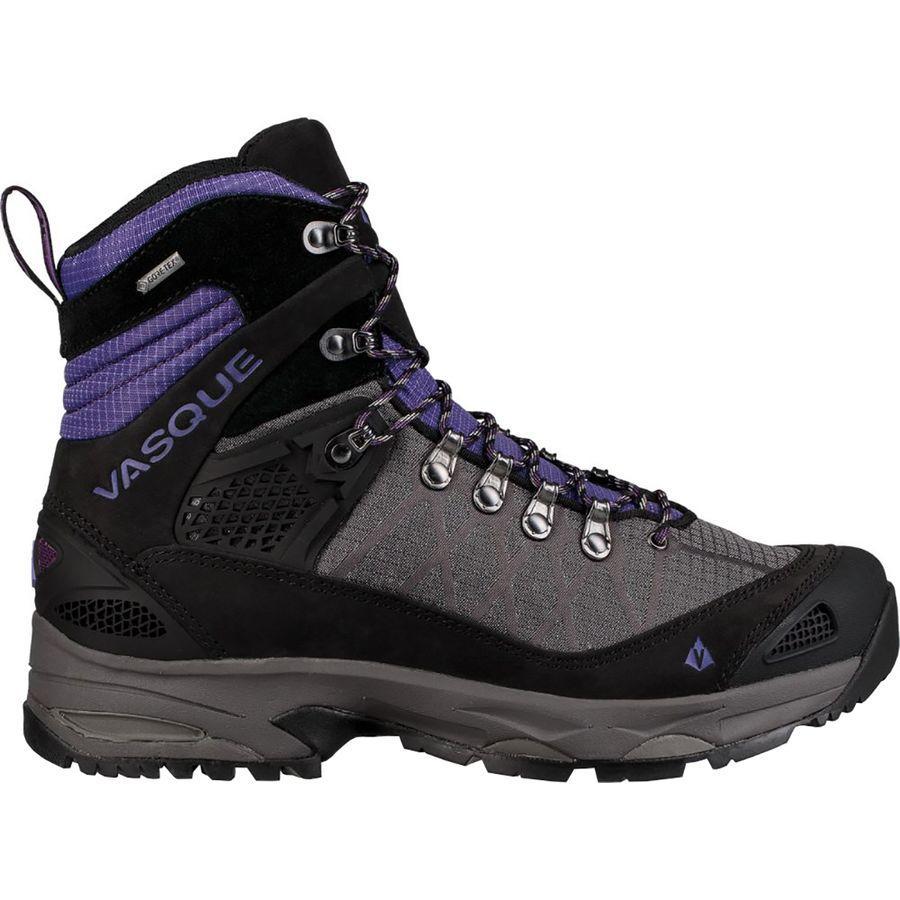 (取寄)バスク レディース サガ Gtx バックパッキング ブーツ Vasque Women Saga GTX Backpacking Boot Blackberry/Ultra Violet