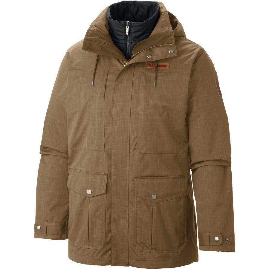 (取寄)コロンビア メンズ ホライズン パイン インターチェンジ ジャケット Columbia Men's Horizons Pine Interchange Jacket Delta/Black