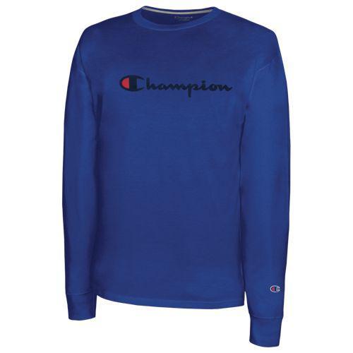 (取寄)チャンピオン メンズ クラシック コットン ロングスリーブ Tシャツ Champion Men's Classic Cotton L/S T-Shirt Surf The Web