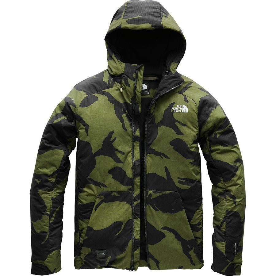 (取寄)ノースフェイス メンズ Lodgefather ヴェントリックス ジャケット The North Face Men's Lodgefather Ventrix Jacket Burnt Olive Green Disrupt Pattern Print