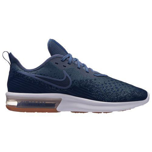 (取寄)ナイキ メンズ エア マックス シークエント 4 Nike Men's Air Max Sequent 4 Midnight Navy Obsidian Diffused Blue Hyper Royal