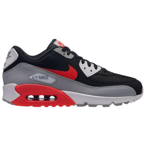 (取寄)ナイキ メンズ エア マックス 90 Nike Men's Air Max 90 Wolf Grey Bright Crimson Black White