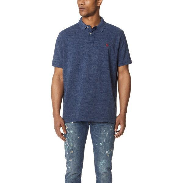 【エントリーでポイント10倍】(取寄)ポロ ラルフローレン カスタム スリム フィット ポロ シャツ Polo Ralph Lauren Custom Slim Fit Polo Shirt RoyalHeather