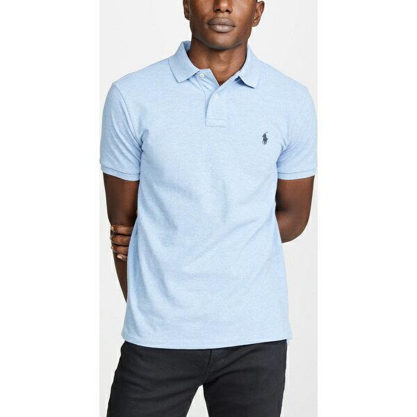 (取寄)ポロ ラルフローレン ニュー カスタム スリム ポロ シャツ Polo Ralph Lauren New Custom Slim Polo Shirt JamaicaHeather