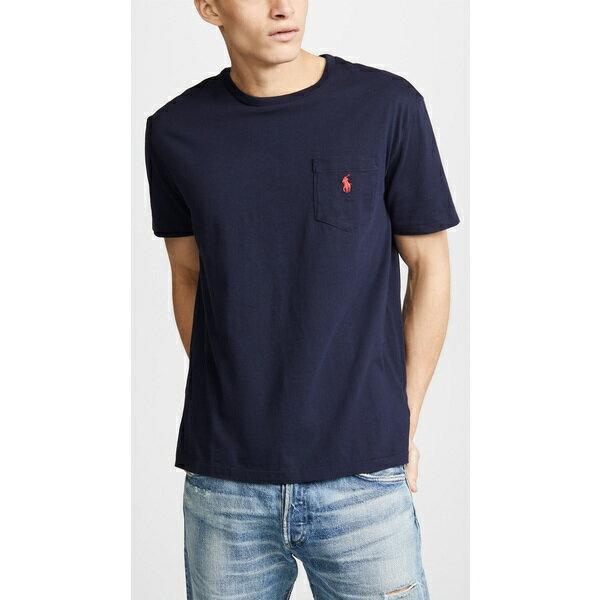 (取寄)ポロ ラルフローレン ポケット ティー シャツ Polo Ralph Lauren Pocket Tee Shirt Ink