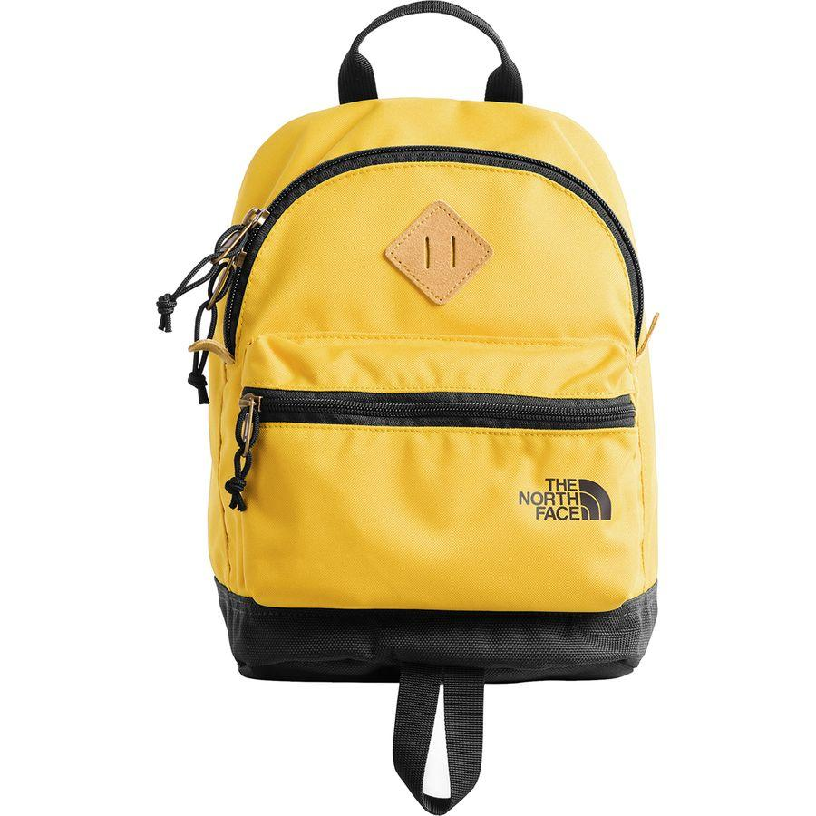 (取寄)ノースフェイス ミニ ミニ バークレー 9L バックパック The North Face Men's Mini Mini Berkeley 9L Backpack Leopard Yellow/Weathered Black