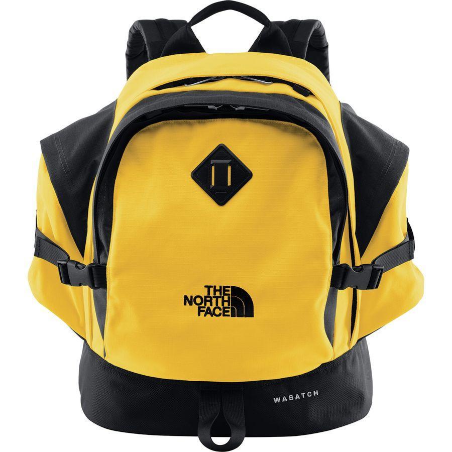(取寄)ノースフェイス ワサッチ リイシュー 35L デイパック The North Face Men's Wasatch Reissue 35L Daypack Tnf Yellow/Tnf Black