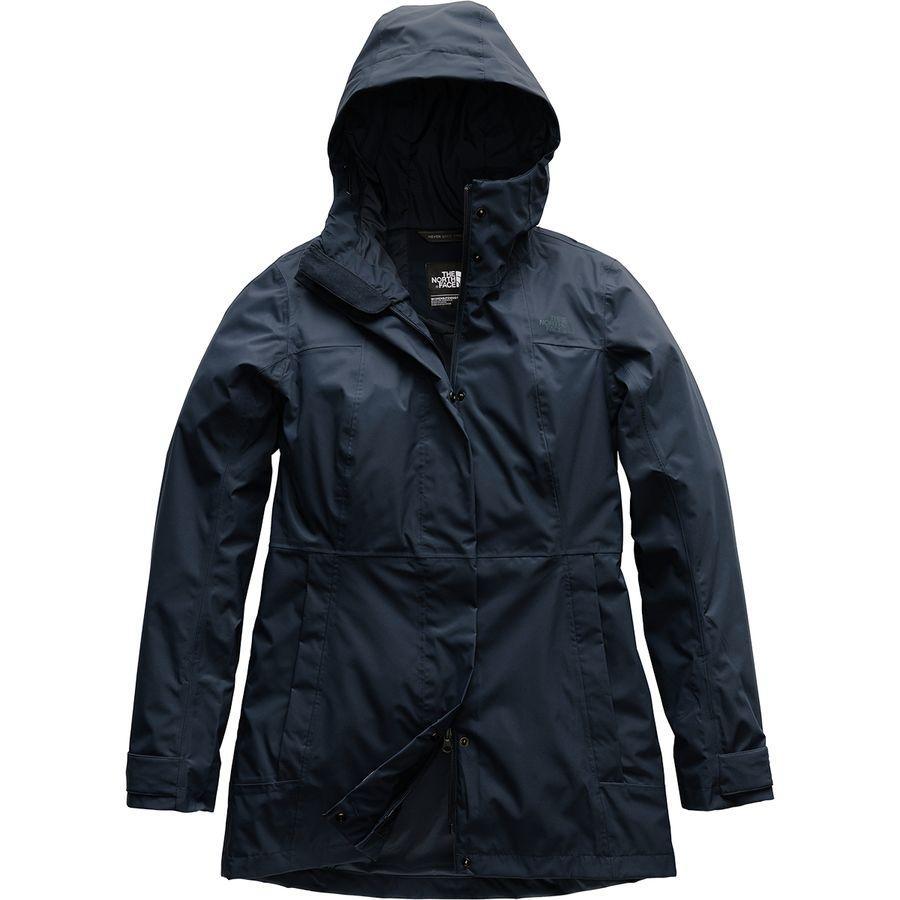(取寄)ノースフェイス レディース シティ ミディ トレンチ ジャケット The North Face Women City Midi Jacket Trench Urban Navy