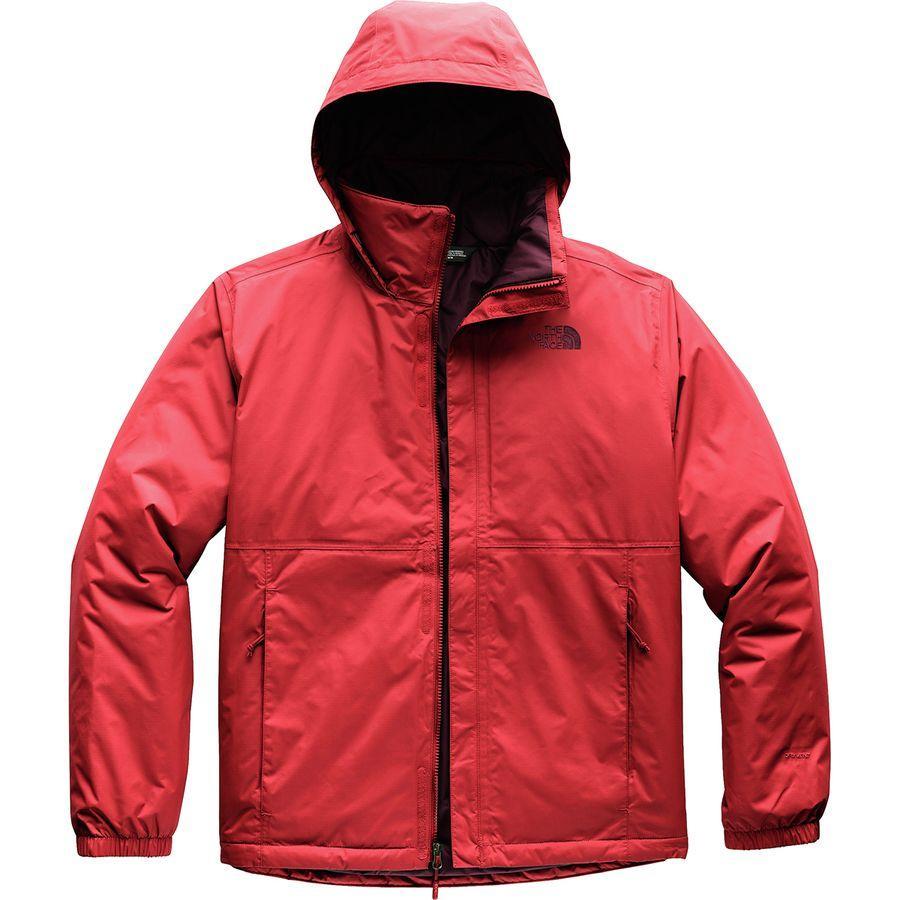 (取寄)ノースフェイス メンズ リゾルブ インサレーテッド ジャケット The North Face Men's Resolve Insulated Jacket Rage Red
