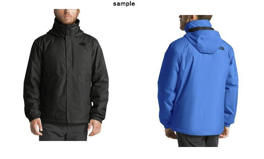 7a60059dcdf (order) ノースフェイスメンズリゾルブインサレーテッドジャケット The North Face Men's Resolve Insulated  Jacket Tnf Black
