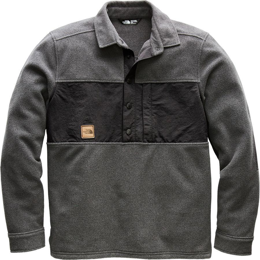 (取寄)ノースフェイス メンズ ダベンポート プルオーバー ジャケット The North Face Men's Davenport Pullover Jacket Asphalt Grey Heather