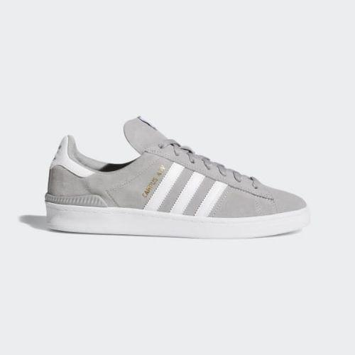 (索取)愛迪達原始物女士掃描路徑Adv鞋adidas originals Women Campus ADV Shoes Multi Solid Grey Cloud  White Cloud White 43040bff0
