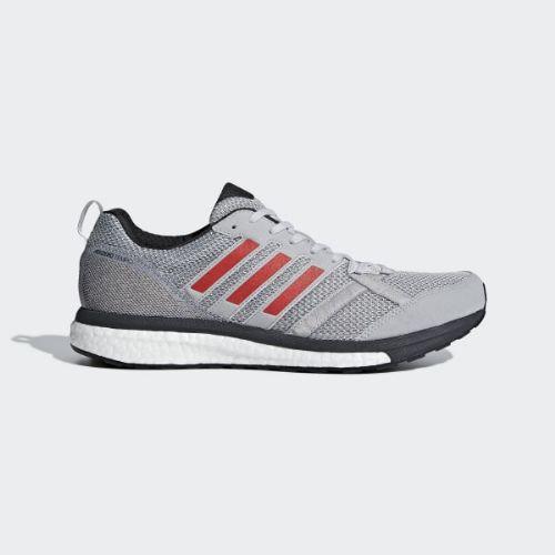 (取寄)アディダス メンズ アディゼロ テンポ 9シューズ ランニングシューズ adidas Men's Adizero Tempo 9 Shoes Grey / Hi-Res Red / Carbon