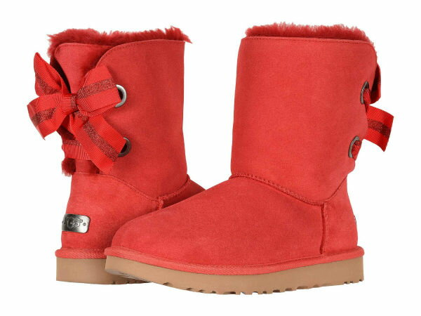 2a3fe105d1e (order) a goes wrong; Dis mouton boots customization Bailey bow tie short  UGG Women Customizable Bailey Bow Short Ribbon Red