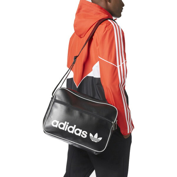 SWEETRAG Rakuten Ichiba Shop  Adidas originals shoulder bag BQ1480 vintage  airliner PU leather bag black adidas originals Vintage Airliner Bag Black  ... ac04c5245df9c