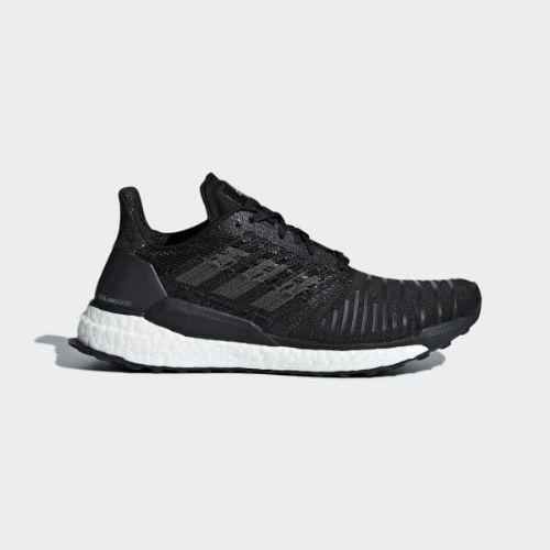 (取寄)アディダス レディース ソーラーブースト ランニングシューズ adidas Women SolarBoost Shoes Core Black / Grey / Cloud White