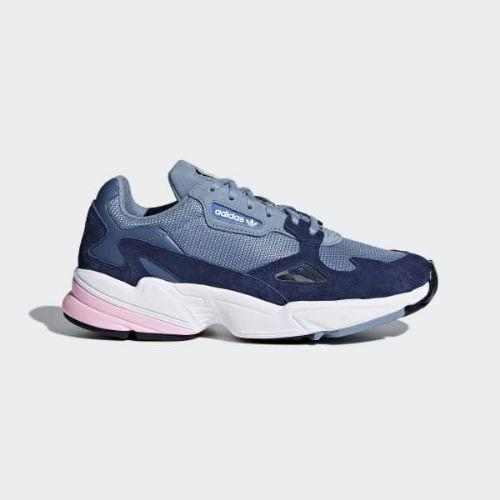 adidas Originals Sko Falcon W Raw GreyRaw GreyLight Pink