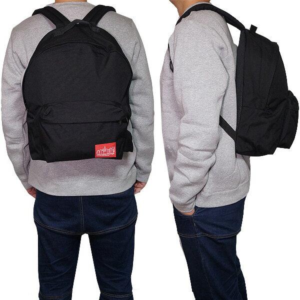 マンハッタンポーテージ リュック 1211 ブラック ビック アップル バックパック Manhattan Portage Big Apple Backpack (LG)