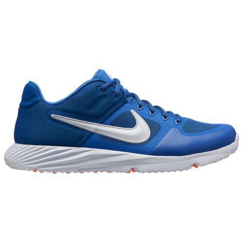 (取寄)ナイキ メンズ アルファ ハラチ エリート 2 ターフ Nike Men's Alpha Huarache Elite 2 Turf Game Royal White Gym Blue