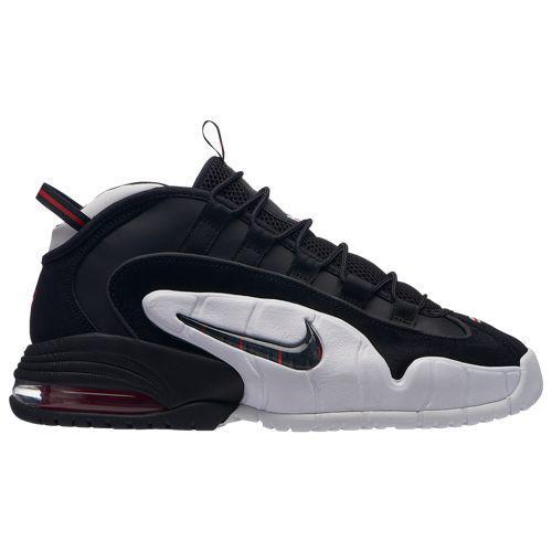 (取寄)ナイキ メンズ エア マックス ペニー Nike Men's Air Max Penny Black Black White University Red