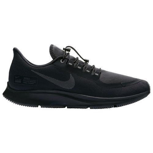 (取寄)ナイキ メンズ エア ズーム ペガサス 35 シールド Nike Men's Air Zoom Pegasus 35 Shield Black Anthracite Dark Grey