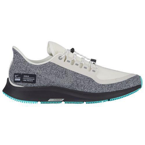 (取寄)ナイキ レディース エア ズーム ペガサス 35 シールド Nike Women's Air Zoom Pegasus 35 Shield Summit White Mtlc Silver Oil Grey Aurora Green