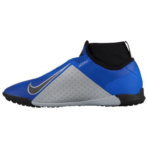 half off af629 b2457 (order) Nike men phantom vision X pro DF tr Nike Mens Phantom VisionX Pro  DF TF Racer Blue Black Metallic Silver Volt