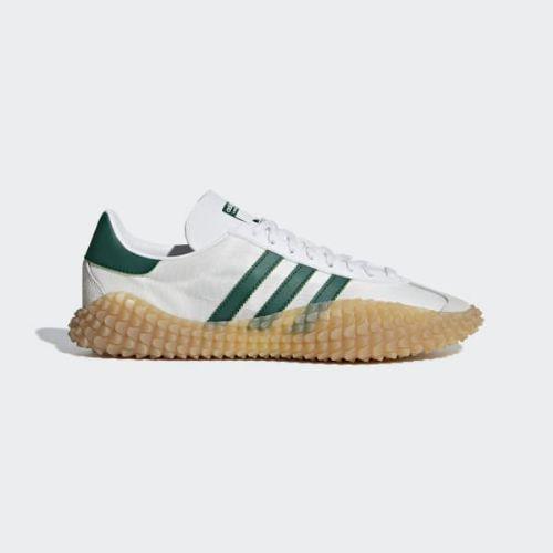 (取寄)アディダス オリジナルス メンズ カントリーxカマンダ シューズ adidas originals Men's CountryxKamanda Shoes Running White / Collegiate Green / Gum