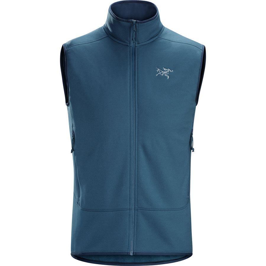 (取寄)アークテリクス メンズ カイヤナイト フリース ベスト Arc'teryx Men's Kyanite Fleece Vest Hecate Blue