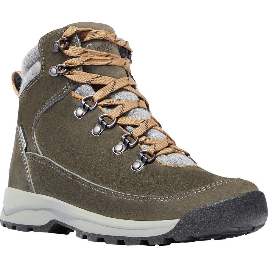 (取寄)ダナー レディース アドリカ ウール ハイキング ブーツ Danner Women Adrika Wool Hiking Boot Olive