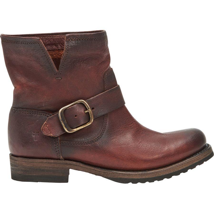 【トレッキング クライミング アウトドア 登山靴】 【レディース シューズ ブーツ 大きいサイズ】 (取寄)フライ レディース ヴェロニカ ブーティー ブーツ Frye Women Veronica ie Boot Redwood