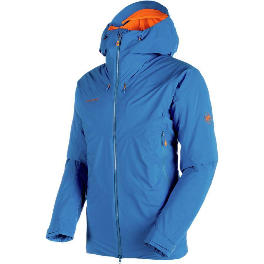(取寄)マムート メンズ ノードワンド HS サーモ フーデッド ジャケット Mammut Men's Nordwand HS Thermo Hooded Jacket Ice