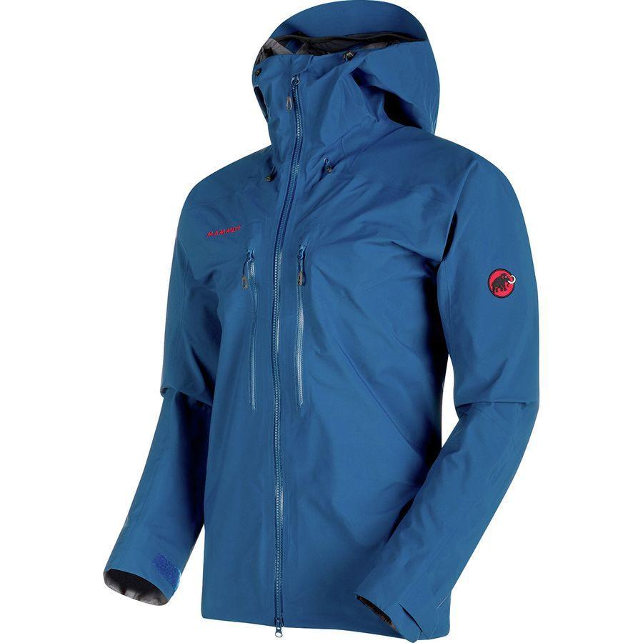 (取寄)マムート メンズ メロン HS フーデッド ジャケット Mammut Men's Meron HS Hooded Jacket Ultramarine