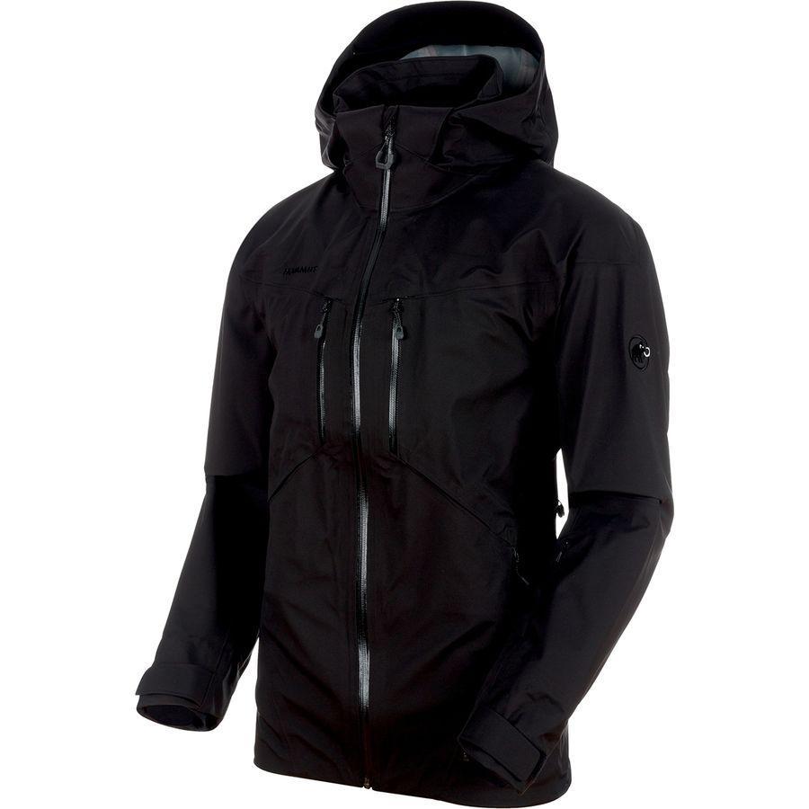 (取寄)マムート メンズ ストーニー HS ジャケット Mammut Men's Stoney HS Jacket Black