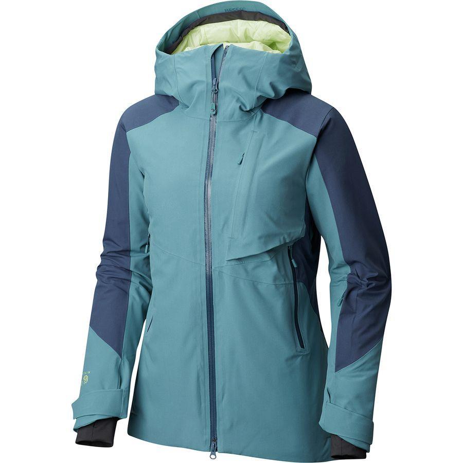 (取寄)マウンテンハードウェア レディース ポララ インサレーテッド ジャケット Mountain Hardwear Women Polara Insulated Jacket Lakeshore Blue