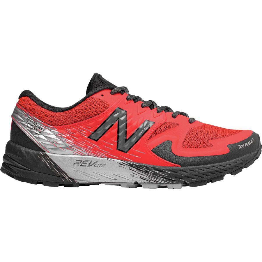 (取寄)ニューバランス メンズ サミット K.O.M. トレイル ランニングシューズ New Balance Men's Summit K.O.M. Trail Running Shoe Flame/Black